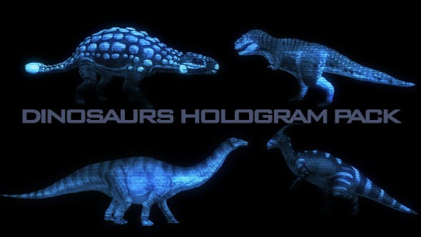 Cover Image for Dinosaurs Hologram Pack