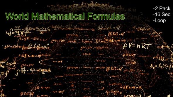Thumbnail for World Mathematical Formulas 01