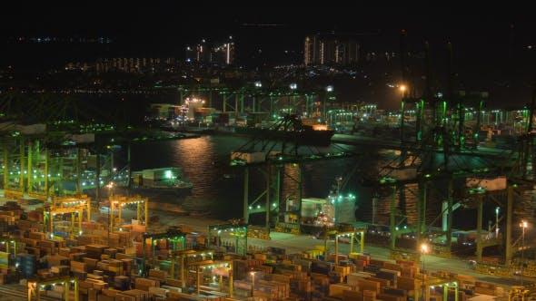 Thumbnail for Port Cargo Ship Transportation