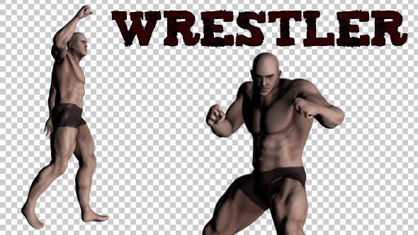 Wrestler - 2 Scenes