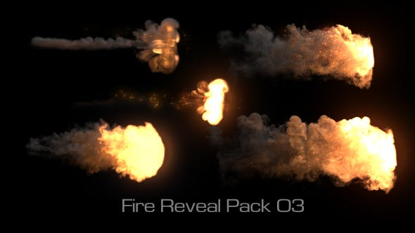 Thumbnail for Fire Reveal Elements Pack 03