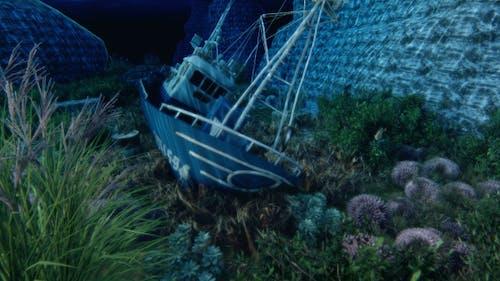 Ship Under Ocean