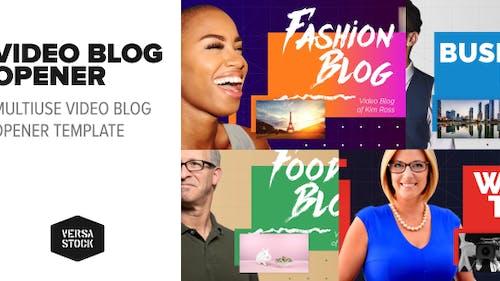 Video Blog   Opener