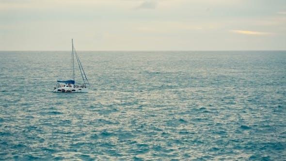 Thumbnail for Pleasure Boat at Sea