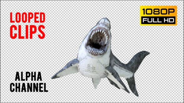 Thumbnail for Shark 1 Realistic Pack 3
