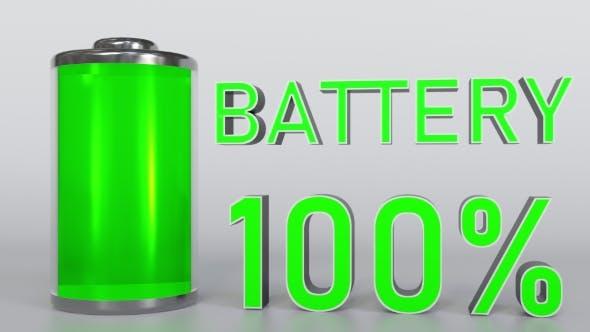 Thumbnail for Discharging Battery Indicator