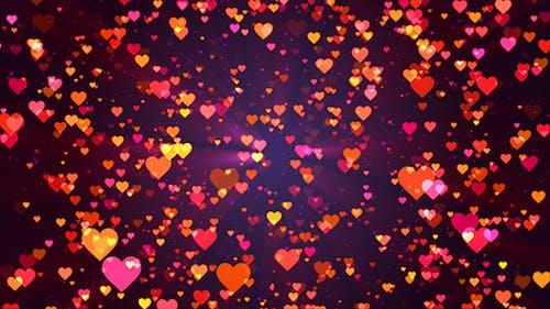 Particles Heart Flights