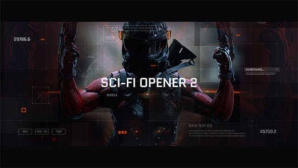 Thumbnail for Sci-Fi Opener / Hi-Tech Slideshow / Futuristic Film Credits / HUD Elements / Space Science