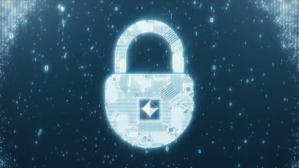 Thumbnail for Padlock Circuit As a Symbol of Protection