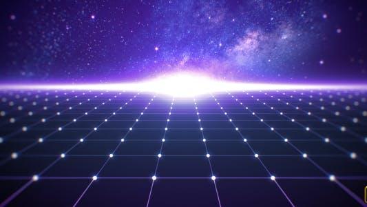 Thumbnail for Digital Grid Background