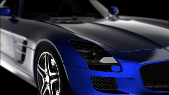 Cover Image for Luxury Sport Car