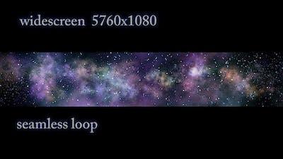 Wide-screen Cosmic Nebula