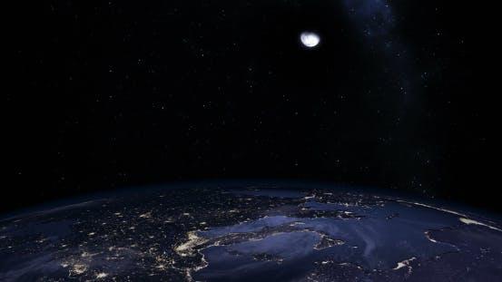 Thumbnail for Sunrise Over Earth