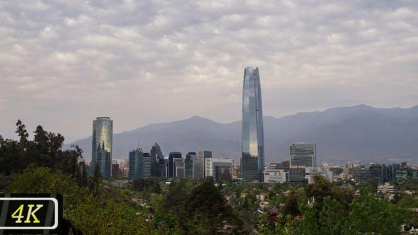 Cover Image for Santiago De Chile Skyline