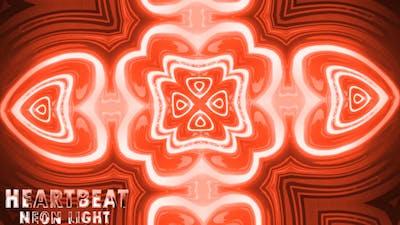 Valentine Heartbeat Neon