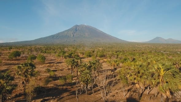 Thumbnail for Active Volcano Gunung Agung in Bali, Indonesia