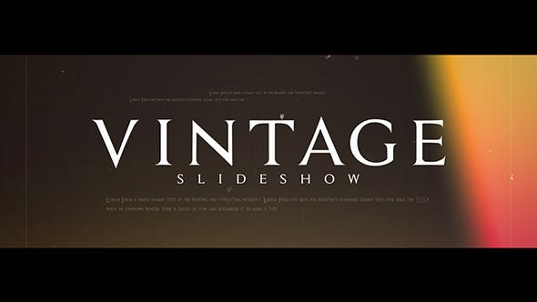 Thumbnail for Vintage Diashow