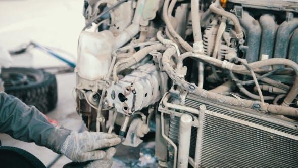 Thumbnail for Industrial Welding - Car Repairing in Workshop