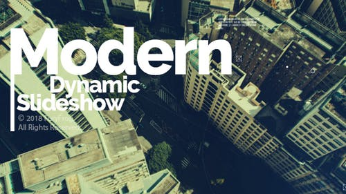 Modern Dynamic Slideshow