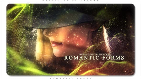 Thumbnail for Romantic Forms Particles Slideshow