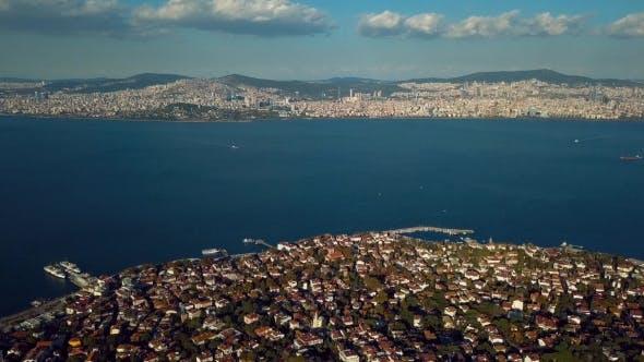 Thumbnail for Blick auf die Prinzeninsel in Istanbul Türkei