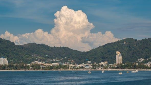 Thumbnail for View of Patong Beach, Phuket Island, Thailand