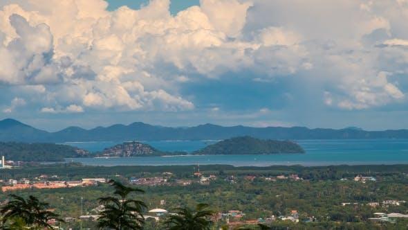 Thumbnail for Town View of Phuket Island, Thailand