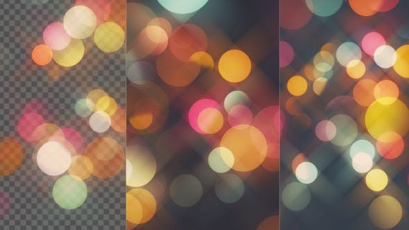 Cover Image for Sweet Colors Bokeh Background And Overlay Loop