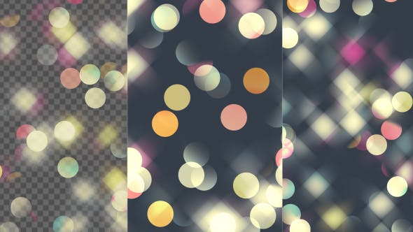 Cover Image for Soft Pastel Colored Bokeh Loop