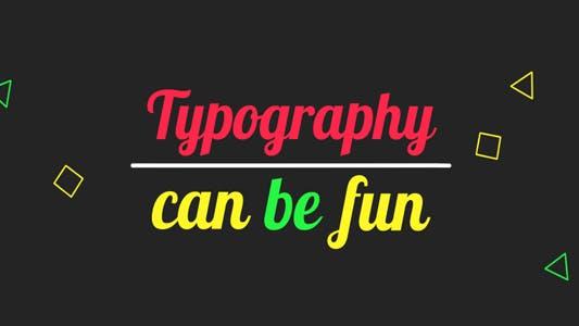 Thumbnail for Fun Kinetic Typography