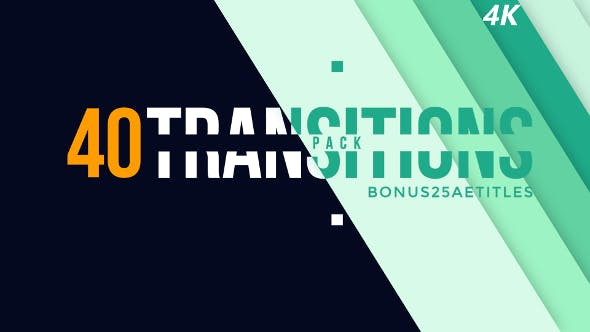 Thumbnail for 40 Transitions Pack