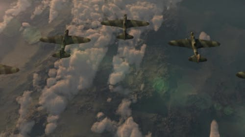 Fighter Jets of the Second World War IL-2 Flying Wedge