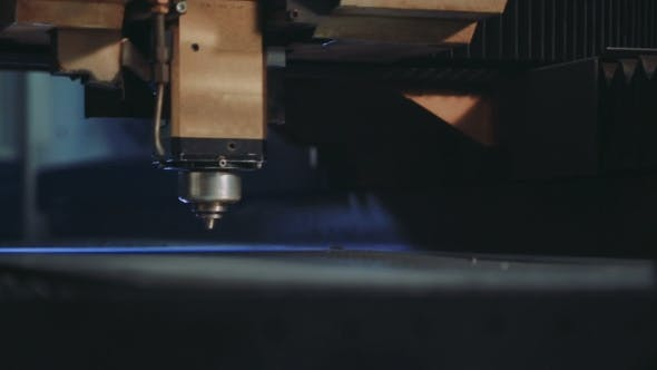 Thumbnail for CNC Laser Cutting Metal Steel on a Lathe with the Modern Industrial Technology