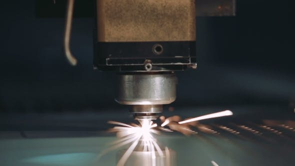 Thumbnail for CNC Laser Cutting Metal Steel with the Program Industrial Technology