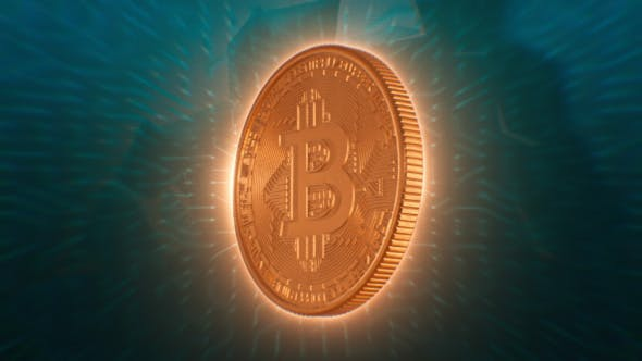 Thumbnail for Bitcoin Digital Cryptocurrency Background