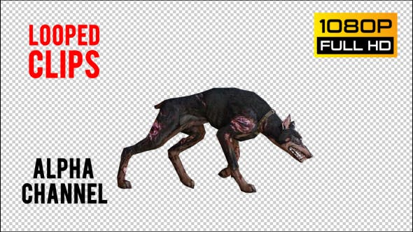 Thumbnail for Dog Zombie 2 Realistic Pack 5