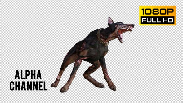 Thumbnail for Dog Zombie 3 Realistic Pack 5
