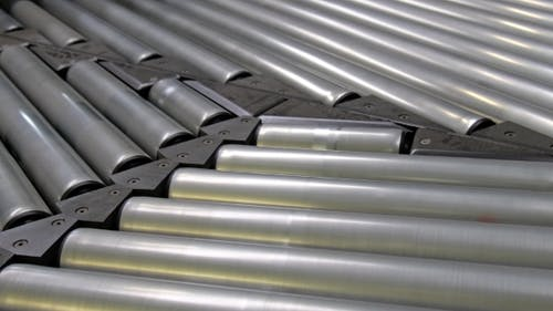 A Combination of Roller Conveyors