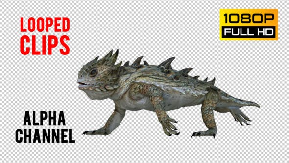 Thumbnail for Horn Lizard 2 Realistic Pack 4
