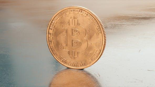 Thumbnail for Bitcoin Kryptowährung Nahaufnahme