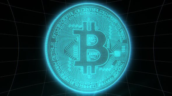 Thumbnail for Bitcoin Digital Crypto Background Loop
