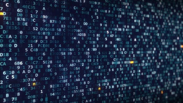 Thumbnail for Namecoin Captions Appearing Among Changing Hexadecimal Symbols on a Computer Screen