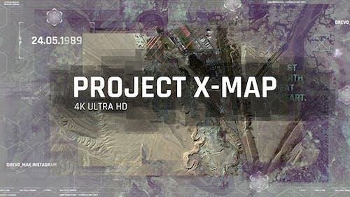 Project X MAP, Technologie Paralax Diashow, 3D Kamera, Clean Travel Memories, Satellite Foto