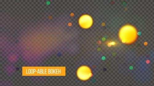 Loop-able Bokeh Background