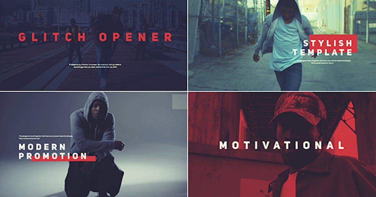 Glitch Opener by i-Minimalist