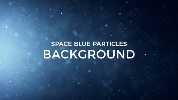Thumbnail for Space Blue Particles