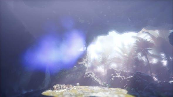 Thumbnail for Sun Light Inside Mysterious Cave