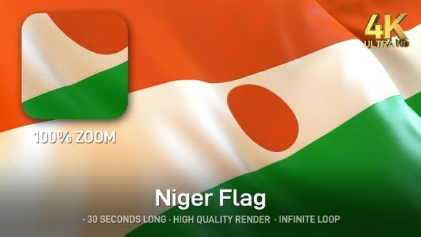 Thumbnail for Niger Flag - 4K