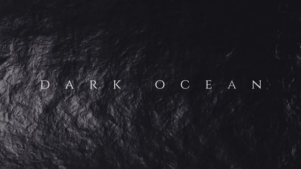 Thumbnail for Dark Ocean - Titles Opener