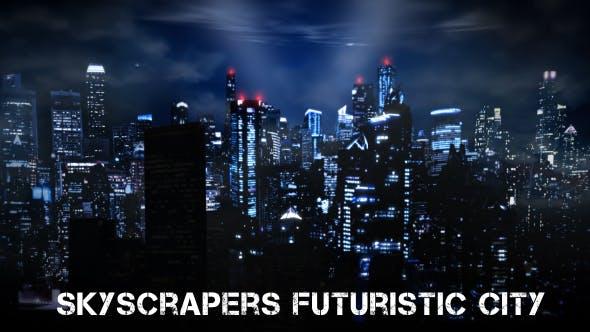 Thumbnail for Skyscrapers Futuristic City